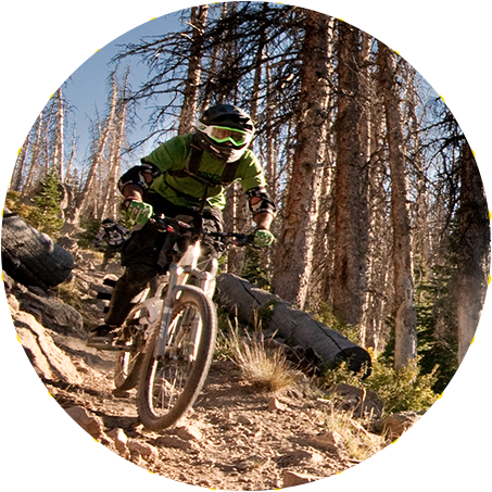 Park City Freeride Mountain Bike Trails