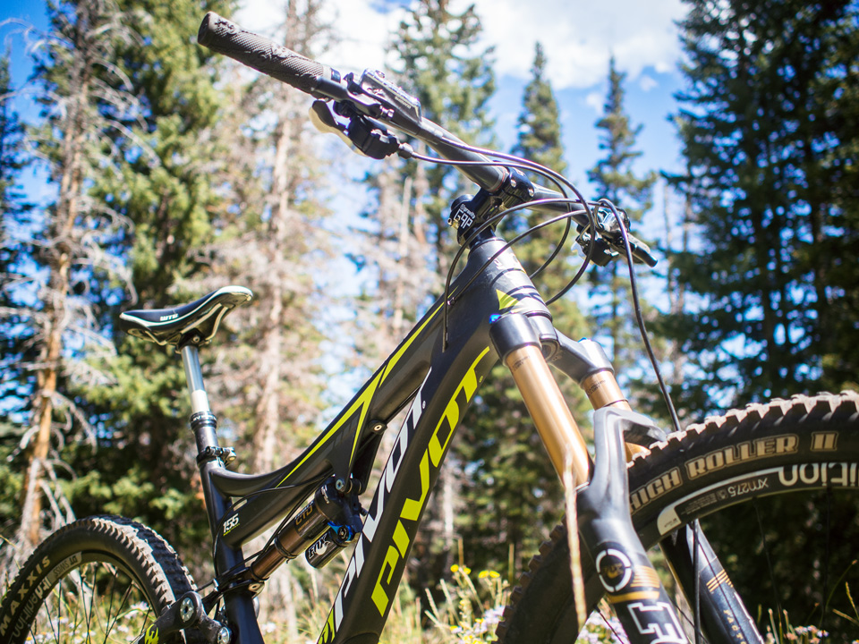Pivot Mach 6 Review Park City Mountain Biking