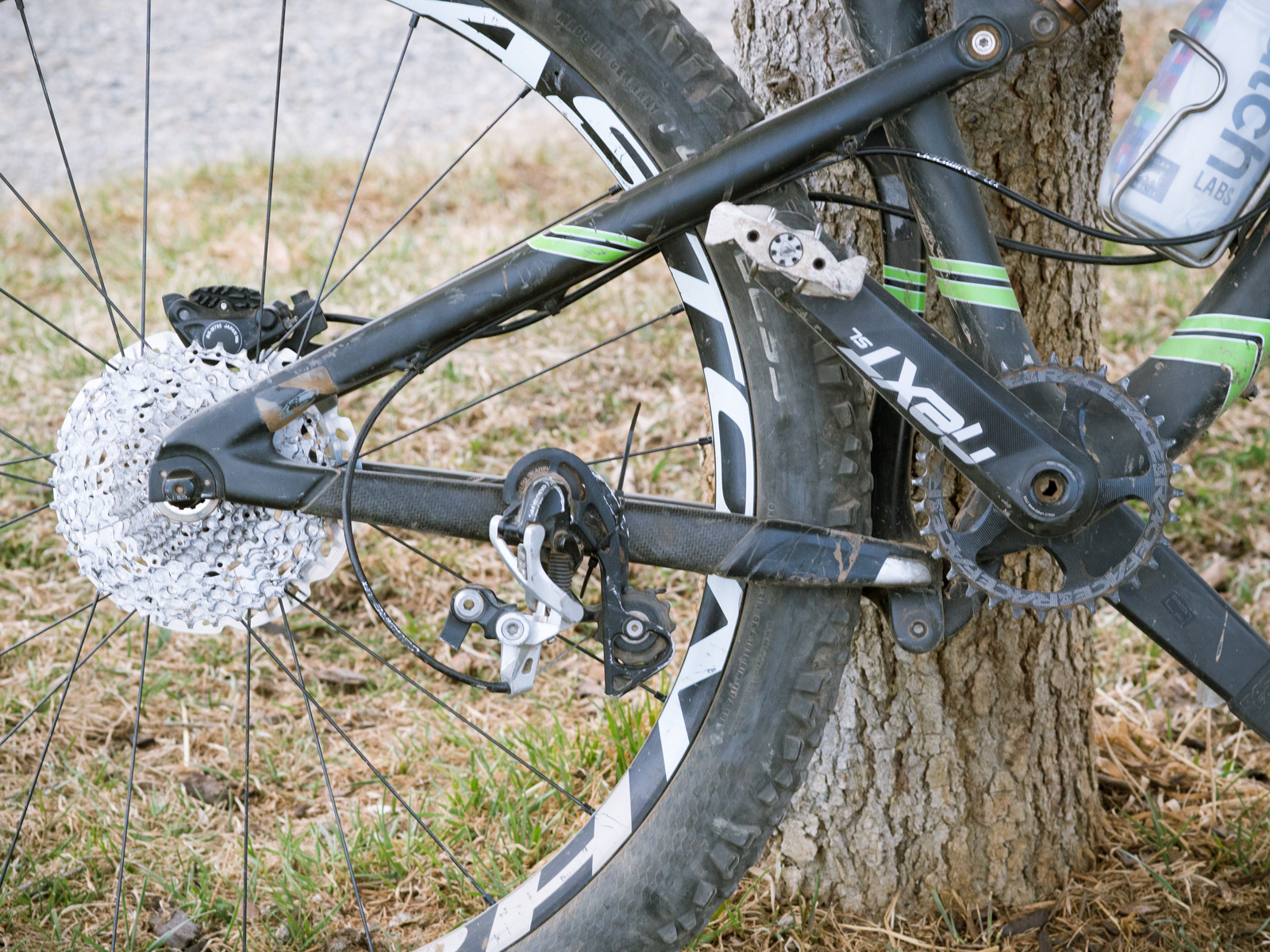 Mountain Bike Zip Ties