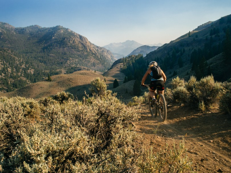 Mountain Biking in Idaho's Boulder Whiteclouds