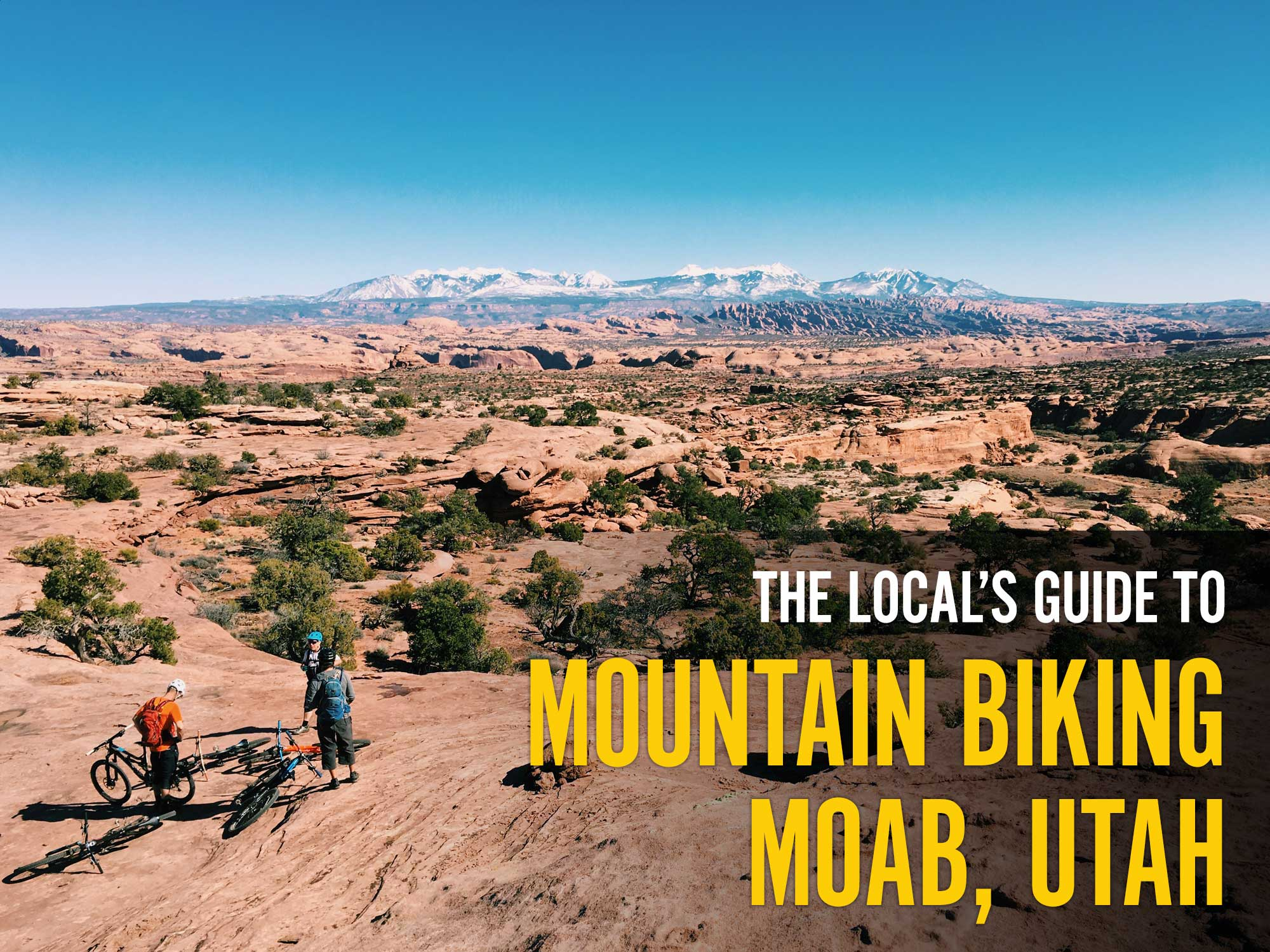 Moab Mountain Bike Guide